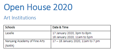 Art Institutions Open House Dates.PNG